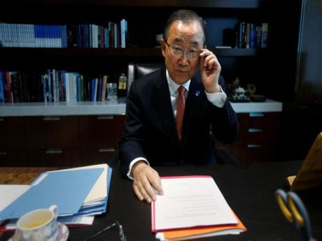 Ong Ban Ki-moon se tranh cu tong thong Han Quoc? - Anh 1