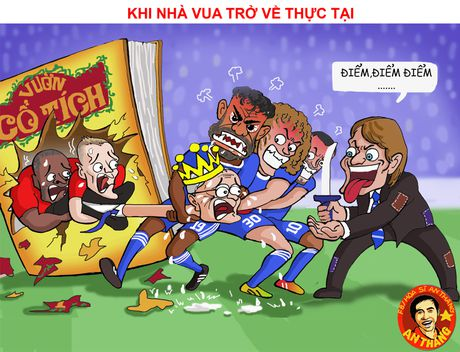 Hi hoa Mourinho dung xe bus, gia cuop doa Guardiola - Anh 1