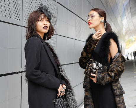 Mai Ngo lo nhuoc diem tai Seoul Fashion Week - Anh 2
