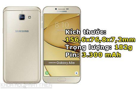 Chiem nguong ve dep tuyet my cua Samsung Galaxy A8 2016 - Anh 3