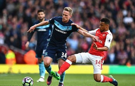 Arsenal 0-0 Middlesbrough: Ep san toan tap (hiep 2) - Anh 1