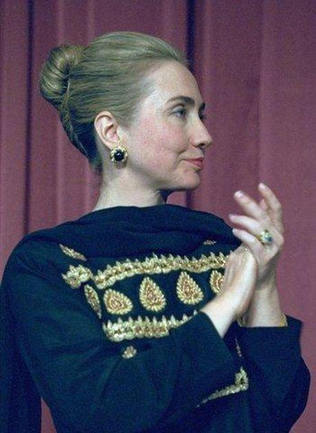 Mai toc dac biet cua ba Hillary Clinton tu thoi nu sinh cho den ung cu vien Tong thong - Anh 5