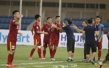 Chum anh: Nhung khoanh khac an tuong cua U19 Viet Nam o VCK U19 chau A - Anh 2