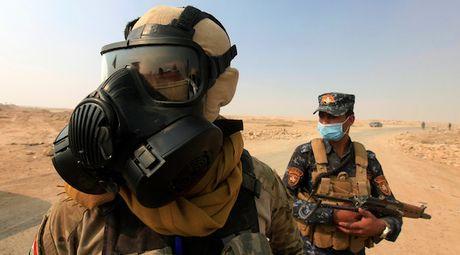Iraq: Nhieu nguoi nhap vien do khoi doc gan thanh pho Mosul - Anh 1