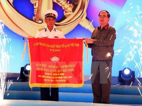 Hai Phong: Ky niem 55 nam Ngay mo duong Ho Chi Minh tren bien - Anh 1