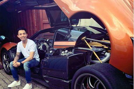 Minh nhua 'show hang' noi that Pagani Huayra hon 80 ty - Anh 1