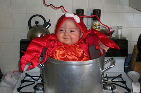 Nhung y tuong trang phuc de thuong cho Halloween dau tien cua be - Anh 2