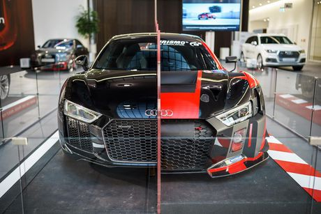 Sieu xe Audi R8 'cua doi' co 1 khong 2 tren The gioi - Anh 1