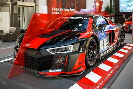 Sieu xe Audi R8 'cua doi' co 1 khong 2 tren The gioi - Anh 5