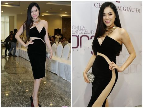 Sao Viet sexy vo doi voi mot vay khong noi y - Anh 9