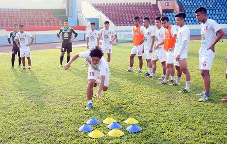 TRUC TIEP U.21 Than Quang Ninh 0-0 U.21 HAGL: Day song san Cam Pha - Anh 13