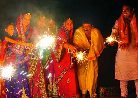 Tung bung Le hoi Diwali tai Ha Noi - Anh 1