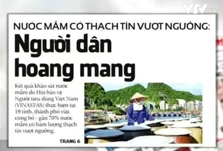 """""""Nuoc mam chua thach tin vuot nguong"""" - Su co truyen thong khong binh thuong - Anh 1"""