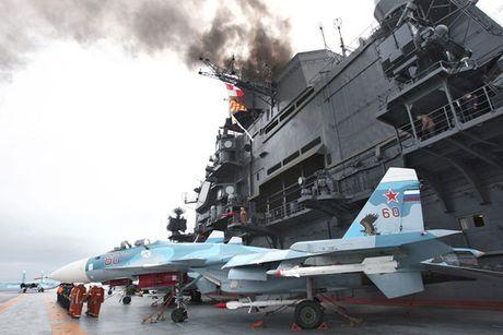 Tinh hinh Syria 23/10: Chua chac can toi tau Do doc Kuznetsov de kiem soat Syria - Anh 2