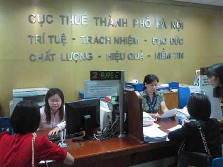 Cuc Thue TP. Ha Noi trien khai cac giai phap quan ly hoa don - Anh 1
