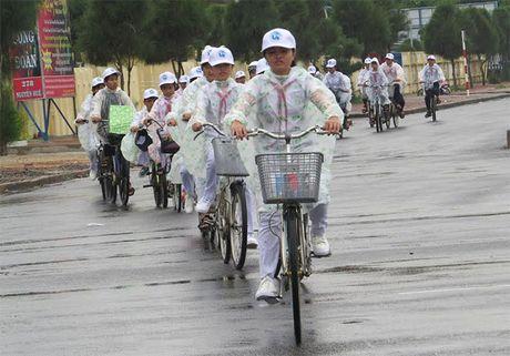 Hang tram hoc sinh tham gia Chuong trinh 'Hay chung tay bao ve dai duong xanh' - Anh 2