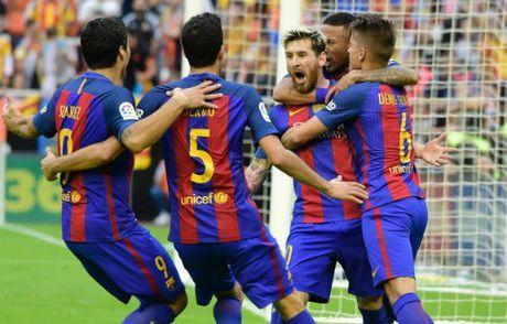 Barca: Messi ghi ban thang 3-2, Neymar hung vat the la - Anh 2