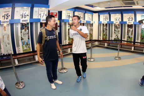 """Nha vo dich FC Thanh Dong """"dot nhap"""" phong thay do Real Madrid - Anh 5"""