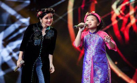 Hong Nhung, Phuong Thanh va Huong Tram 'chay' cung Top 3 'Giong hat Viet nhi' - Anh 2