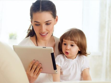 Thoi gian thich hop cho tre su dung smartphone, tablet la bao lau? - Anh 3