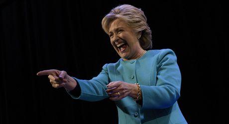 Bao My to ba Clinton bia dat tai cuoc tranh luan cuoi cung - Anh 1