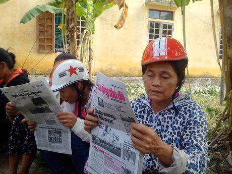 Bao Lao dong Thu do tiep tuc hanh trinh cuu tro tai ron lu Huong Khe - Anh 14