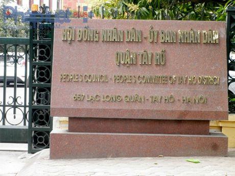Tam dung hoat dong ben thuy noi dia Ho Tay - Anh 1