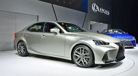 Lexus IS ban nang cap co gi moi? - Anh 5