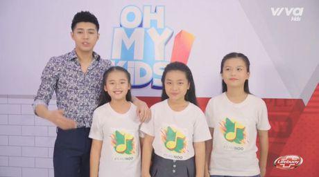 Oh My Kids! #6: Noo Phuoc Thinh lan dau doi dien thu thach 'vu dieu hoang duong' - Anh 1