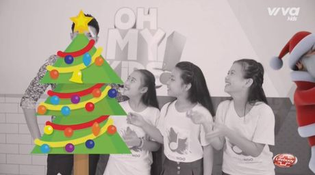 Oh My Kids! #6: Noo Phuoc Thinh lan dau doi dien thu thach 'vu dieu hoang duong' - Anh 4