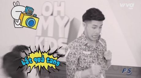 Oh My Kids! #6: Noo Phuoc Thinh lan dau doi dien thu thach 'vu dieu hoang duong' - Anh 6