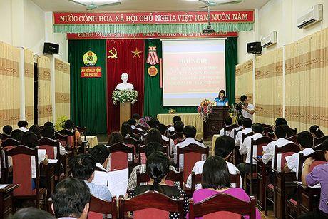 LDLD tinh Phu Tho: 9 thang, dat 98,6% ke hoach nam phat trien doan vien - Anh 1