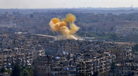 Giao tranh ac liet o Aleppo sau khi ket thuc lenh ngung ban - Anh 1