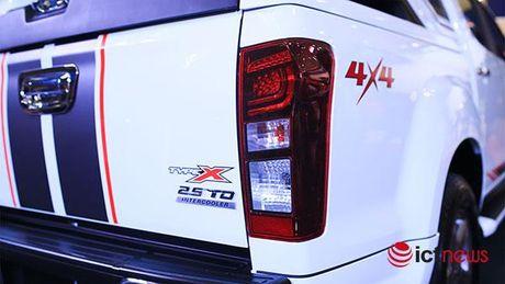 Chi tiet Isuzu D-Max Type X va Isuzu mu-X Limited moi tai Viet Nam - Anh 22