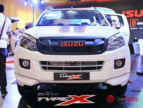 Chi tiet Isuzu D-Max Type X va Isuzu mu-X Limited moi tai Viet Nam - Anh 25