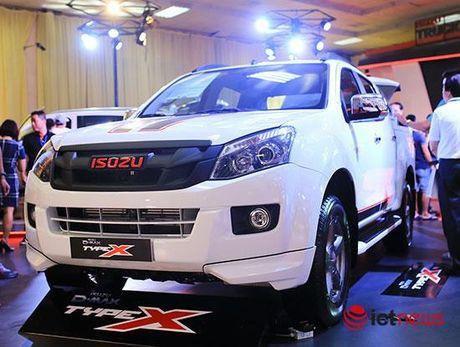 Chi tiet Isuzu D-Max Type X va Isuzu mu-X Limited moi tai Viet Nam - Anh 5