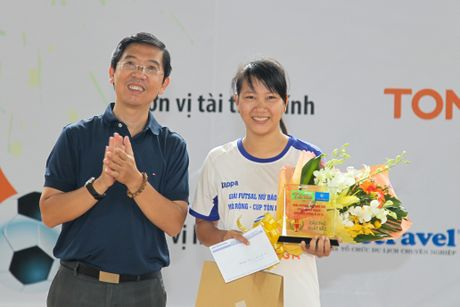 Ket thuc giai futsal bao chi TP.HCM 2016 - Anh 6