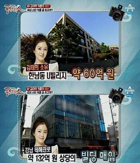 Kim Tae Hee giau co den do nao tai Han Quoc? - Anh 2