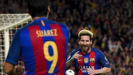 Messi lam 3 ngay nhieu hon 6 tuan cua Ronaldo - Anh 1