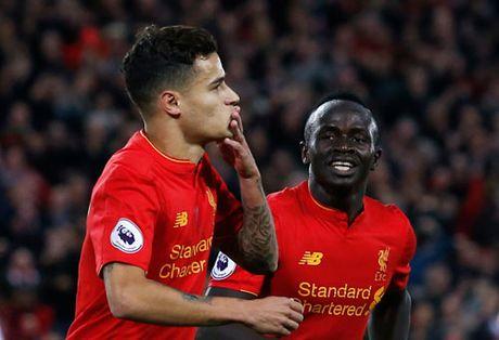 Liverpool leo len thu hai Ngoai hang Anh - Anh 1