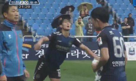 Xuan Truong da 67 phut trong tran thang 2-0 cua Incheon - Anh 1