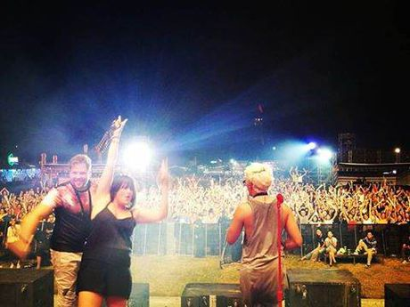 Monsoon Music Festival 2016: Ban nhac Nam Phi khien khan gia Viet nhay uot dam ao - Anh 1