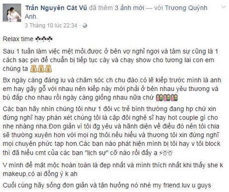 Tim - Truong Quynh Anh ngay cang ben chat hon sau khi 'guong vo lai lanh' - Anh 11
