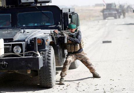Hinh anh cuoc tong tan cong Mosul- thanh tri cua IS tai Iraq - Anh 11