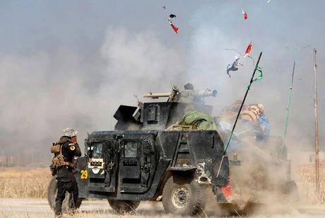 Hinh anh cuoc tong tan cong Mosul- thanh tri cua IS tai Iraq - Anh 12