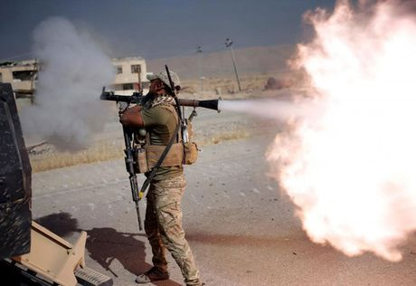 Hinh anh cuoc tong tan cong Mosul- thanh tri cua IS tai Iraq - Anh 14