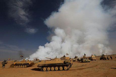 Hinh anh cuoc tong tan cong Mosul- thanh tri cua IS tai Iraq - Anh 1