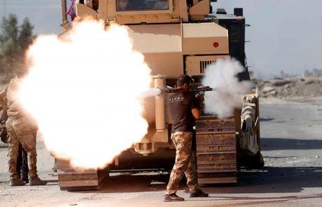 Hinh anh cuoc tong tan cong Mosul- thanh tri cua IS tai Iraq - Anh 6
