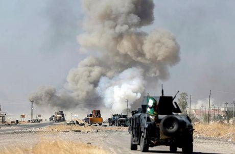 Hinh anh cuoc tong tan cong Mosul- thanh tri cua IS tai Iraq - Anh 7