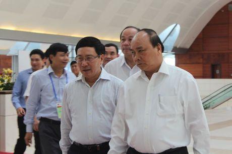 Hinh anh:Thu tuong thi sat cong tac to chuc CLMV8, ACMECS7, WEF-Mekong - Anh 1